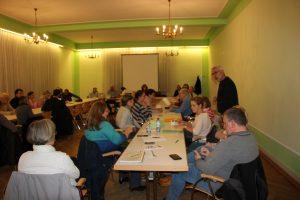 Gefüllter Saal im Kurhaus Bad Vilbel zur Mitgliederversammlung
