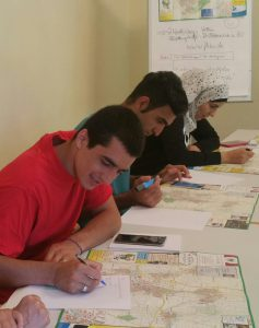 Erarbeitung interaktiver Stadtplan