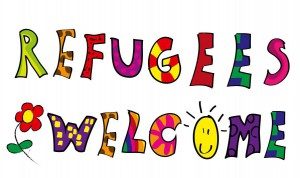 Fotolia Motiv Refugees Welcome II