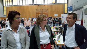 Christian Klapproth im Gespräch auf dem Bürgerempfang der Stadt Bad Vilbel